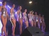 Miss Saint Omer 2009 candidates en maillot de bain