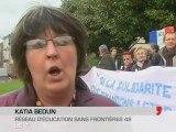 Angers : Tous délinquants solidaires aux sans papiers!