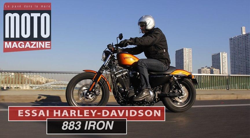 Essai Harley Davidson 883 Iron