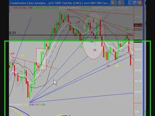 Day Trading the S&P Emini Futures with Uncle Mike 4/9/09