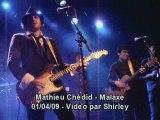 Mathieu chedid malaxe hommage bashung