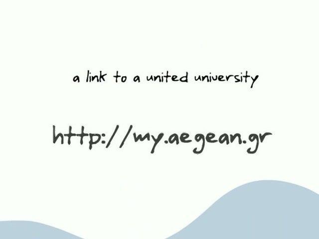 MY.aegean.gr student Community 2007-2008 Presentation