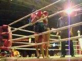Boxe Thai Chiang Mai - 1er combat