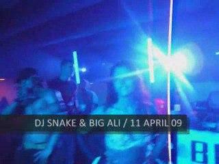 DJ SNAKE & BIG ALI @ ILE DES ACORES (PORTUGAL) / 11 AVRIL 09