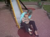 tobogan avec mamie