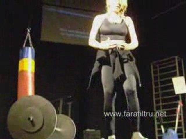 Fitness - Mihaela Teleoaca la Gala Star Bacau