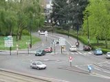 Nantes : zoom rond point