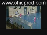 Foot en salle freestyle 2009 (video rare)