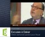 Villiers excuse le racisme de Sarkozy