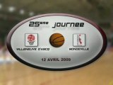 LFB 2008 2009 : J25 VILLENEUVE D'ASCQ / MONDEVILLE