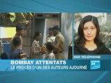 Bombay attentats: procès d'un des auteurs ajourné