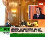 President Medvedev gave an interview to opposition newspaper