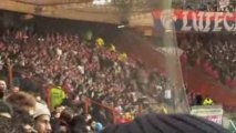 PSG-Lille - 11 minutes d'ambiance, but, chants supporters