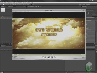 After Effects Cinema Title 1 Tutoriel