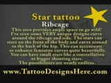 Star Tattoos - Unique Places to Get Inked