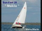 """""""Makila """" , un Sun-Fast 20 , sur le bassin d'Arcachon"""