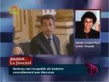 Sarkozy : la population est excédée - I. Coutant-Peyre