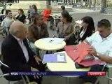 interview raoul-marc JENNAR / européennes 2009 - France3