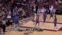 Nba LeBron James throws down the dunk against the Pistons
