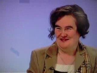 Susan BOYLE first interview - Scottish Television