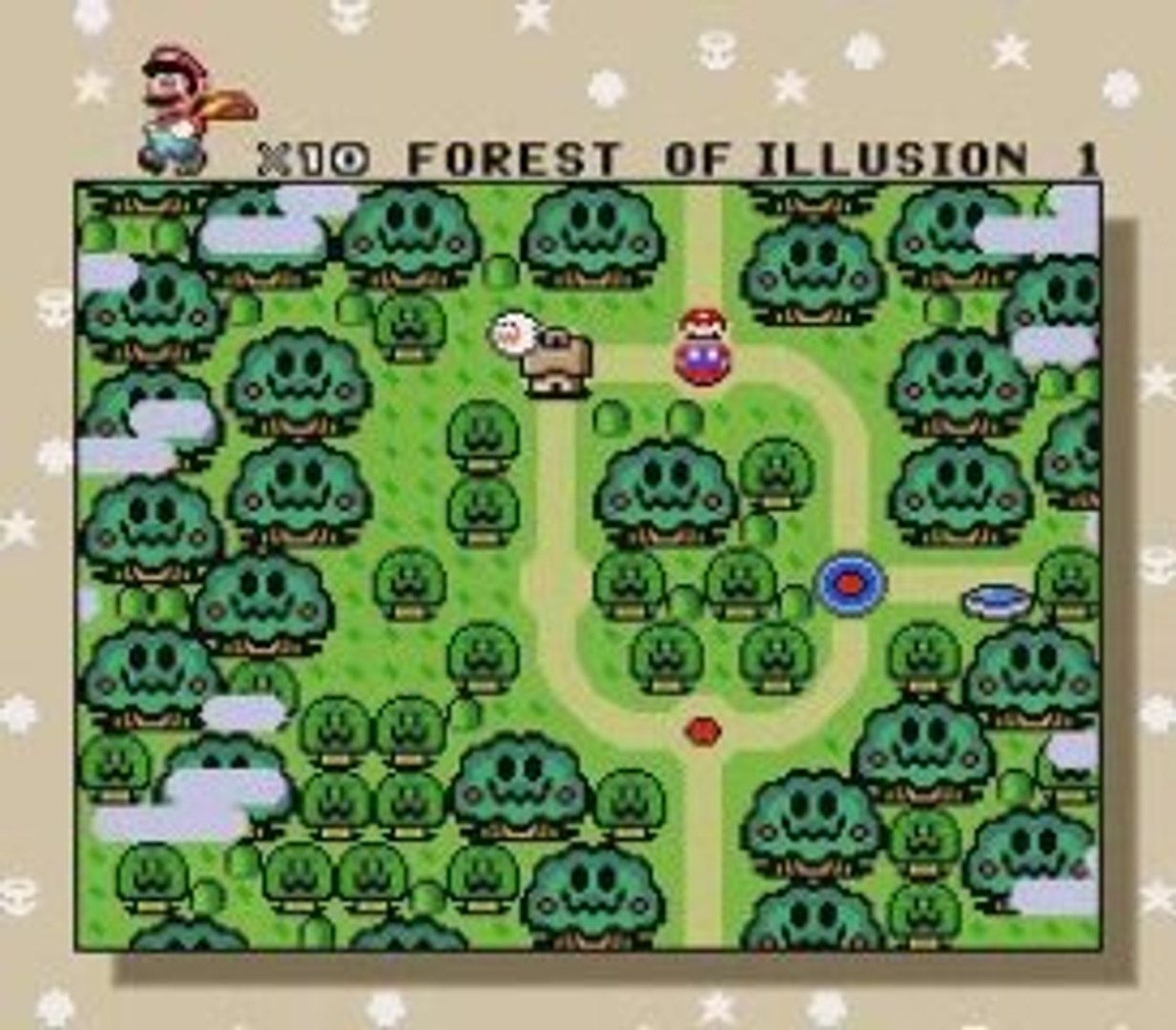 Lets play SMW pt 34 Forest Ghost house regular and secret ex