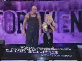 WWE Victoria Vs Trish Stratus Unforgiven 2004