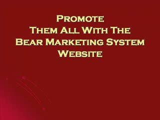 Best Job Online – FREE To Join – The Bear Marketing Syste…