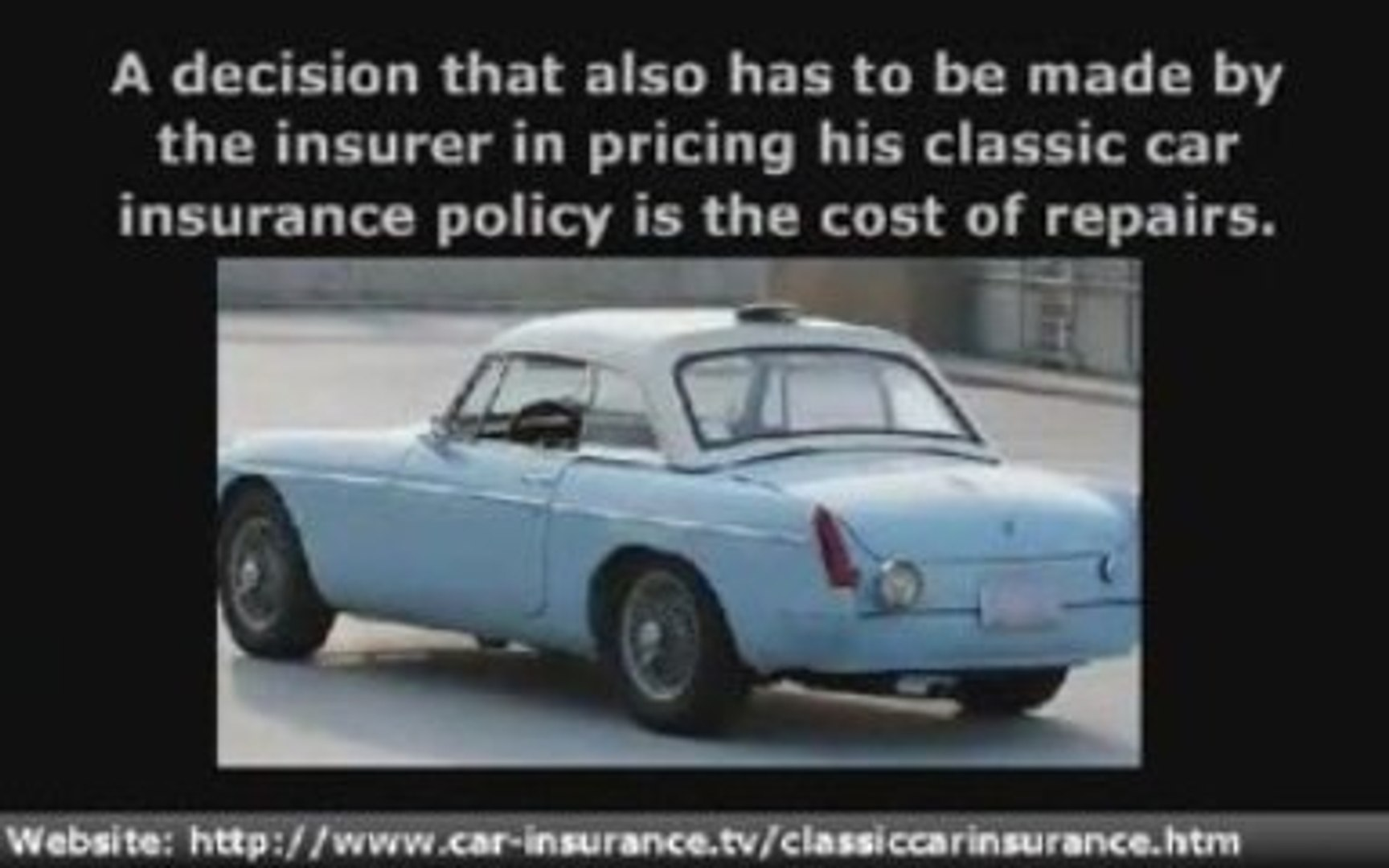 How To Value A Classic Car For Insurance Purposes Video Dailymotion