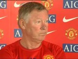 Alex Ferguson defends his team selection for the FA Cup