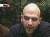 "Roberto ""Gomorra"" Saviano s'entretient avec Rue89 2/3"