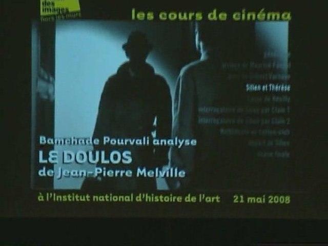 """""""Le Doulos"""" de Jean-Pierre Melville - Bamchade Pourvali"""