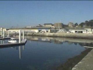 Le nouveau port du château de Brest