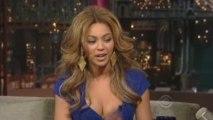 Beyonce Letterman Int 4-22
