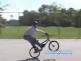 BMX Bike Tricks & Jumps : How to Manual : BMX Tricks