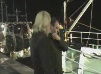 Marine Le Pen soutient les pêcheurs 1/2
