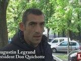 Don Quichotte : nouveau campement à Strasbourg