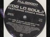 """De la soul feat. chaka khan """"all good"""" (ugo & sanz remixes)"""