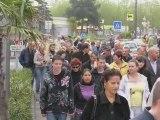 CAP D'AGDE - 2009 - Les manifestations s'enchainent au Cap d'Agde contre les parkings payants