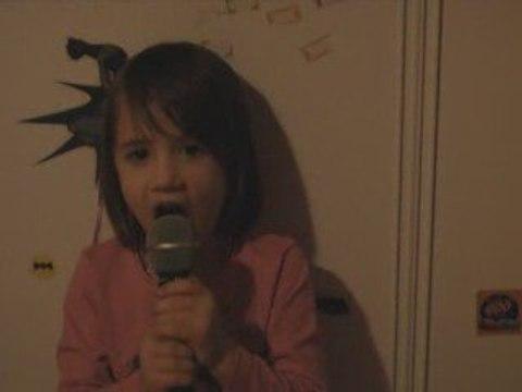 léa chante calogero