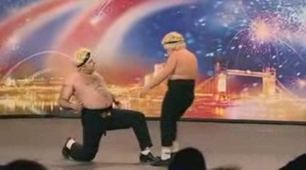 Funny dance performance - Britain Got Talents