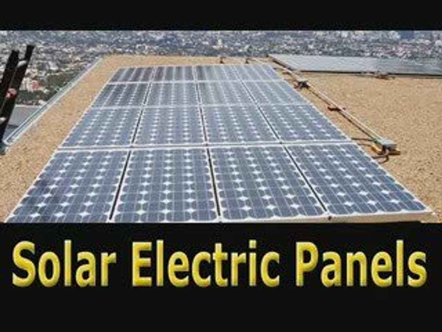Solar Electric Panels-Make Cheap Solar Electric Panels