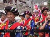 Cérémonie de mariage groupé en Chine