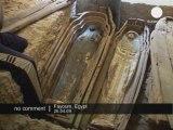 Des momies Égyptiennes découvertes par des Archéologues