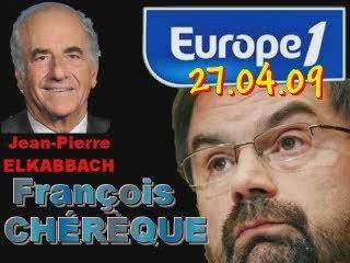 ITW de François Chérèque (27.04.09)