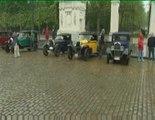 Oldtimers rally van Brussel