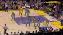 NBA Kobe Bryant scored 31 points as the Lakers ran away from