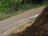 Sortie de route Rallye-des-vins-2006