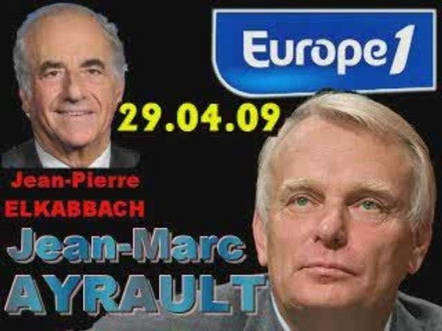 ITW de Jean-Marc Ayrault (29.04.09)