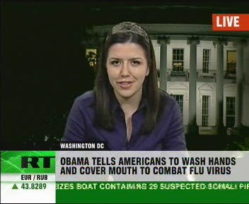 Obama talks swine flu, wars and crisis