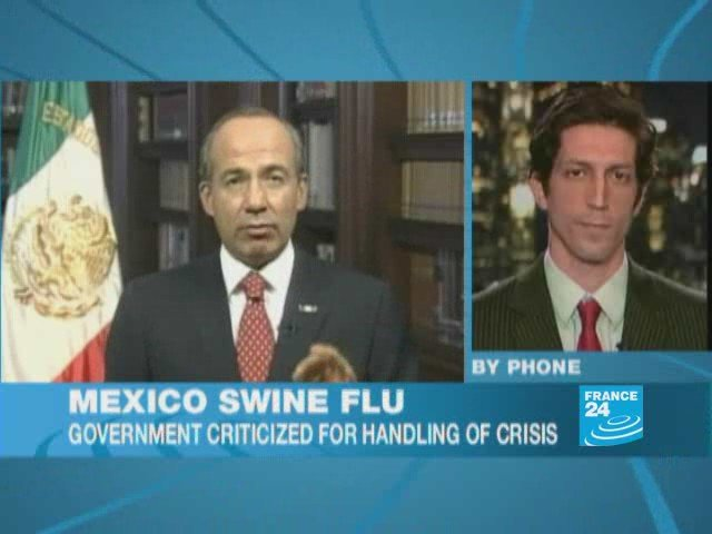 Swine flu: Mexicans urged to stay home